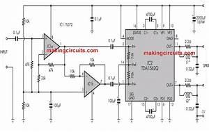 36 Watt Btl Power Amplifier Circuit Using Ic Tda1562q