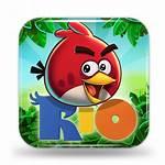 Angry Birds Rio App Icons Windows Mac
