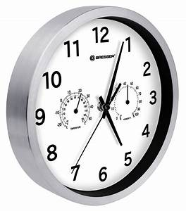 Bresser Mytime Thermo-   Hygro- Wall Clock 25cm