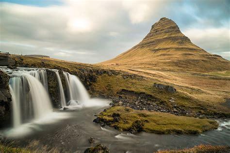 Kirkjufell Mountain Iceland Kirkjufell Church Mountain