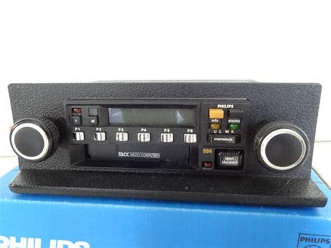 Philips Mcc Stereo Car Radio Ac990/994 Type