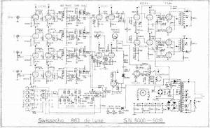 Swissecho 863 Deluxe Stereo Amplifier  Echo Unit Schematic