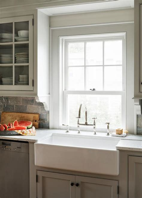 light gray cabinets light gray kitchen cabinets with farm sink cottage kitchen