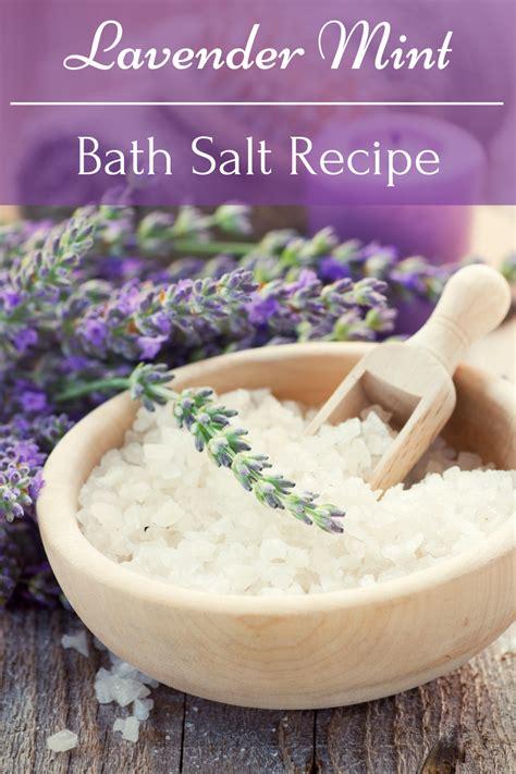 bath salts recipe lavender mint bath salt recipe everything pretty
