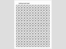 Quilting Graph Papers for MS Word Word & Excel Templates