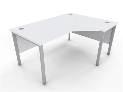 white office table desk icw white bench style curve desk a1 office furniture