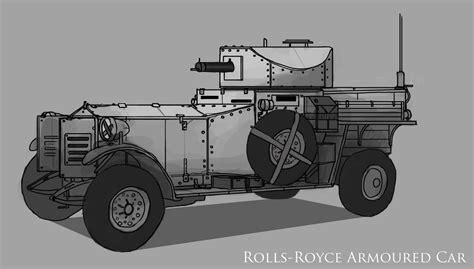 rolls royce armored car the art of martin reimann rolls royce armoured car study