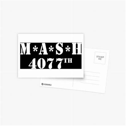 Mash Postcards Redbubble Postcard