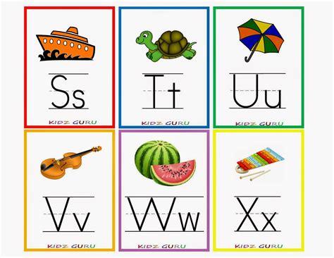 HD wallpapers kindergarten alphabet flash cards printable