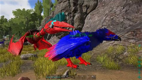 ark survival evolved tips 6 how to paint a dinosaur youtube