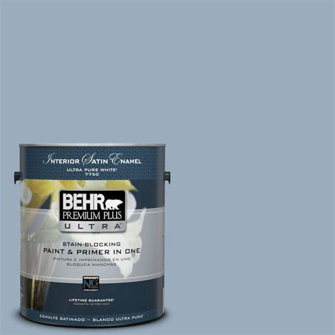 behr premium plus ultra 1 gal s510 3 ombre blue satin