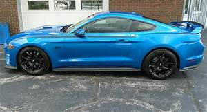Velocity Blue 2019 Ford Mustang GT RTR Series 1 Fastback - MustangAttitude.com Photo Detail