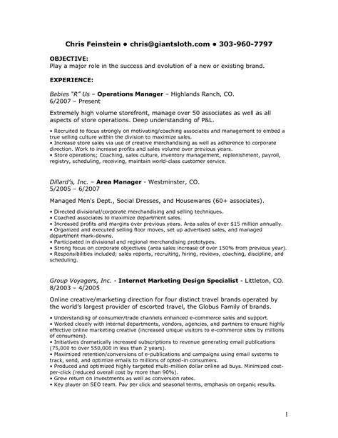 macys sales associate resume description resume cover letter mechanic resume cover letter sle