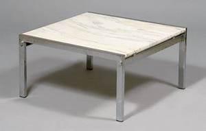 Table Marbre Rectangulaire : ventes aux ench res paris knoll table basse plateau rectangulaire en marbre de c ~ Teatrodelosmanantiales.com Idées de Décoration