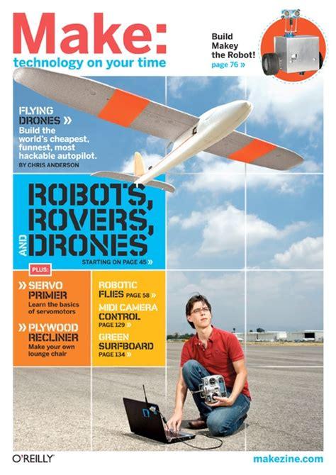 come costruire un drone volante make magazine il direttore di wired spiega come