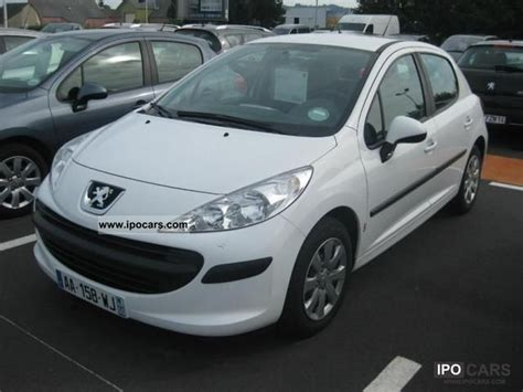 2009 peugeot 207 1 4 hdi70 trendy 5p car photo and specs
