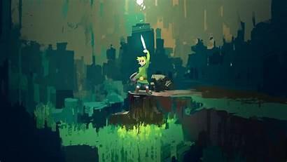 Zelda Legend Link Sword Master Loz Computer