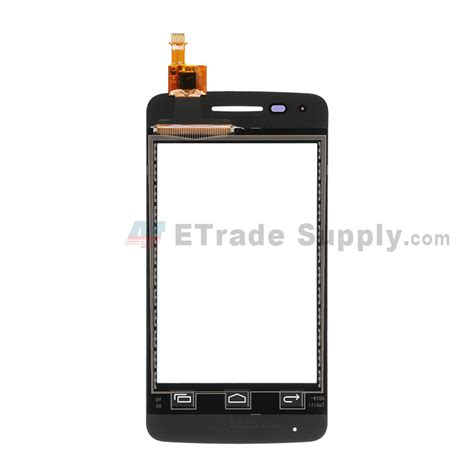 alcatel  touch pixi  digitizer touch screen black etrade supply