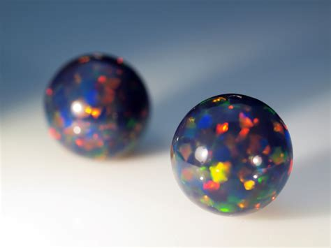 Black Opal, White Opal, Crystal Opal And