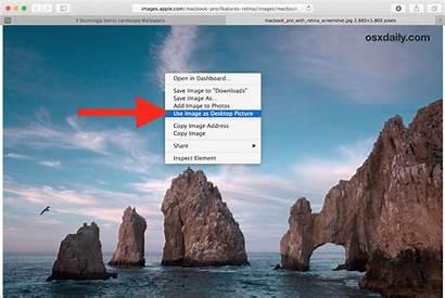 Mac Background Safari Desktop Os Put Save