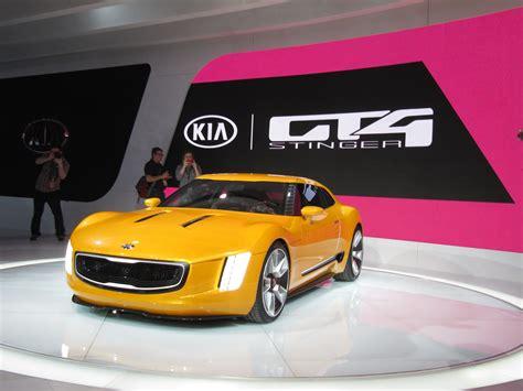 Gt4 Stinger Concept Previews New Kia Sports Car