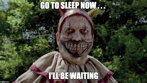 Scary Clown Meme - scary clown under bed meme www pixshark com images galleries with a bite