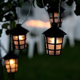 Guirlande party lanterne blanc chaud   Eclairage Design