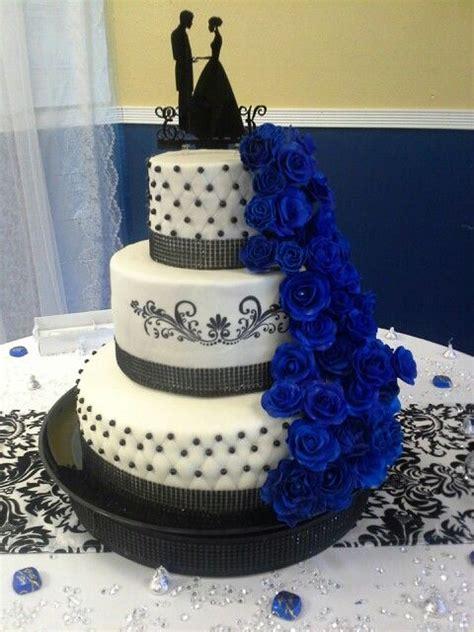 Royal Blue And Black Wedding Cakes   ogvinudskillelse.website