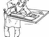 Carpenter Coloring Staple Wecoloringpage sketch template