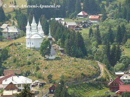 Harta Arieseni - Harta Muntii Apuseni : cazare si obiective turistice Arieseni