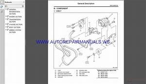 Subaru Tribeca W10 2012 Service Manual