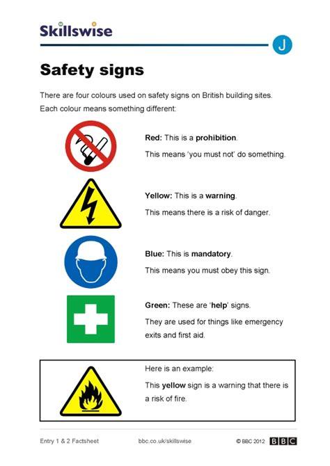 Open Kitchen Ideas - safety signs