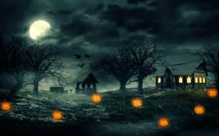 Scary Pictures For Pumpkins by Halloween Haunted House Wallpaper Wallpapersafari