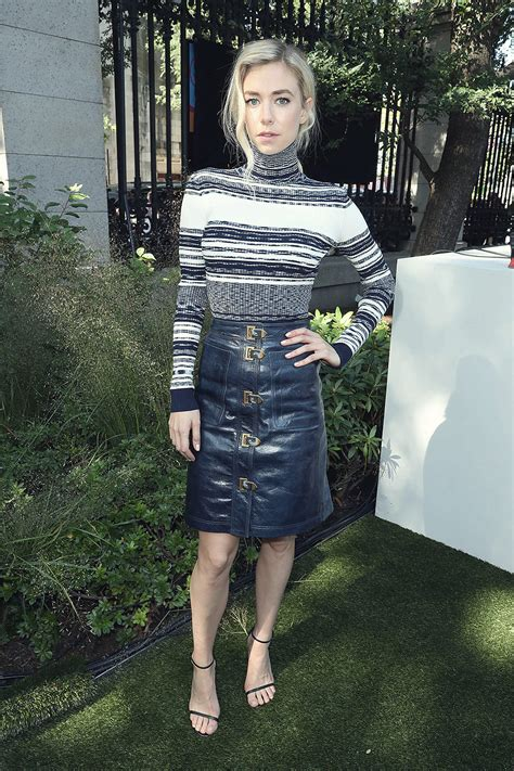 vanessa kirby   tory burch ss show leather