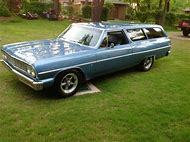 1964 Chevelle 2 Door Wagon For Sale