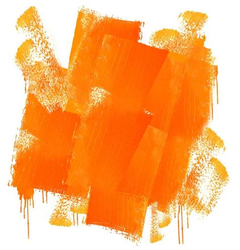 pink and tangerine paint colors and started to paint their rainbow by using the