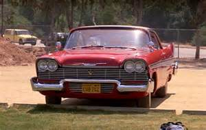 1958 Plymouth Fury Christine Movie Car