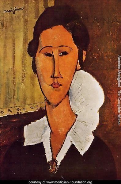 Amedeo Modigliani The Complete Works Portrait Of Anna