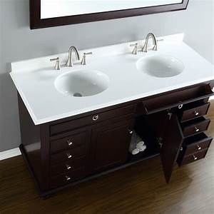 Mayfield 60 U0026quot  Double Sink Vanity