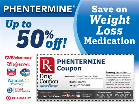 weight loss diet prescription coupons with pharmacy