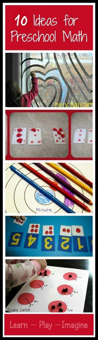 Preschool Math {The Sunday Showcase} ~ Learn Play Imagine ...