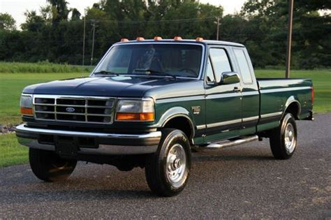 Sell used 1996 FORD F250 XCAB XLT 7.3L DIESEL 98K ORIGINAL