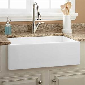30quot risinger fireclay farmhouse sink smooth apron With 27 farmhouse sink white