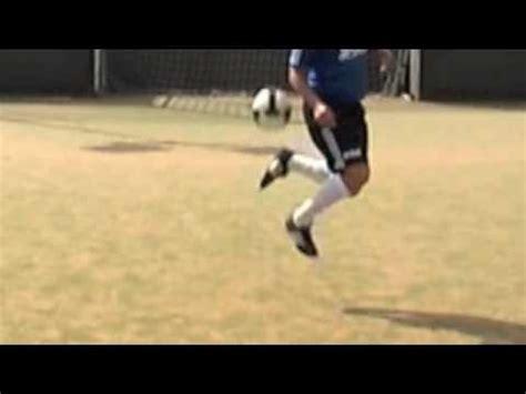 learn football soccer skills rainbow flick pot  gold