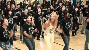 Beyonce Surprises Students Let39s Move Flash Workout For