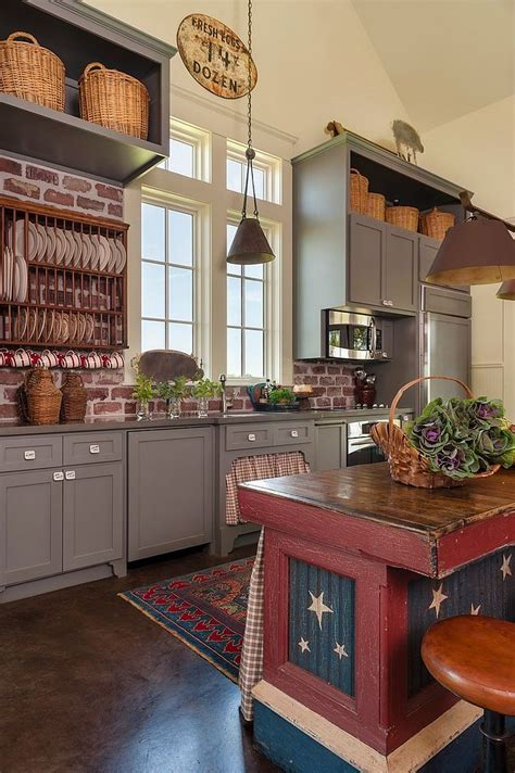 farmhouse kitchen decor ideas 50 trendy and timeless kitchens with beautiful brick walls
