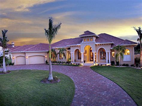 magnificent covered lanai  architectural designs house plans