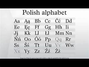 Polish Alphabet Youtube
