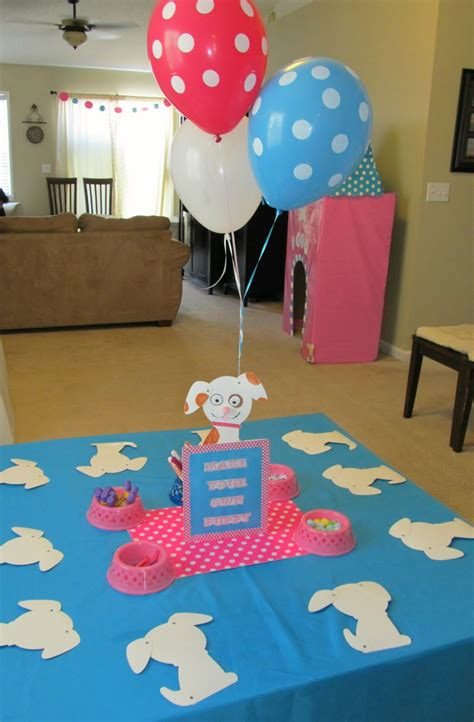 cool party favors puppy themed birthday party   girl