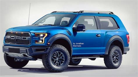ford bronco front high resolution photo  car news